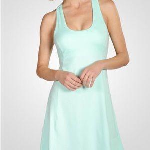 Soybu Zen Garden green blue patterned dress